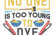 No One Is Too Young To Dye Notebook: Hair Stylist & Hairdresser Notebook / Journal / Log Book - Appreciation Gift Idea - Lined, 120 Pages, 6x9, Soft Cover, Matte Finish