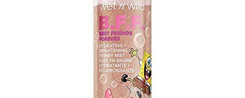wet n wild B.F.F. Hydrating + Brightening Primer Mist, SpongeBob Squarepants Makeup, Moisturizer, Makeup Primer
