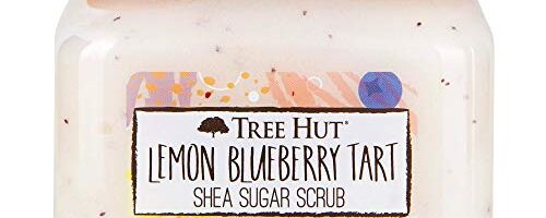 Tree Hut Lemon Blueberry Tart Shea Sugar Scrub, 18 oz, Ultra Hydrating and Exfoliating Scrub for Nourishing Essential Body Care