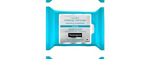 Neutrogena Hydrating Makeup Remover Face Wipes, Pre-Moistened Facial Cleansing Towelettes to Condition Skin & Remove Dirt, Oil, Makeup & Waterproof Mascara, Alcohol-Free, 3 x 25 Ct